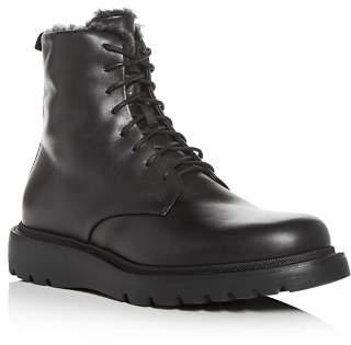 Aquatalia Men's Charles Weatherproof Leather & Shearling Boots