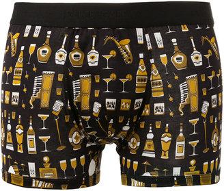 Dolce & Gabbana Underwear Bottles Jazz print boxers $79.16 thestylecure.com