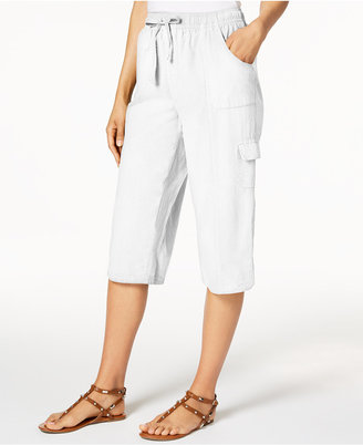 Karen Scott Edna Cotton Capri Pants, Only at Macy's $39.50 thestylecure.com