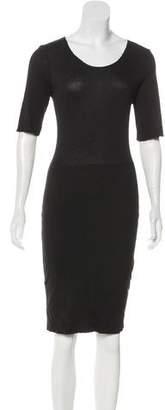 Raquel Allegra Jersey Knee-Length Dress