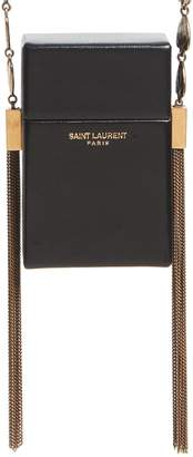 Saint Laurent Smoking Leather Minaudiere
