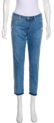 Adriano Goldschmied The Stilt Crop Mid-Rise Jeans