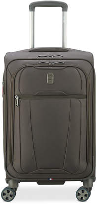 """Delsey Helium 360 21"""" Expandable Spinner Carry-On Suitcase, Created for Macy's"""