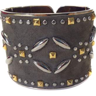 Valentino Suede Cuff With Studs