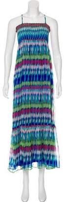 OndadeMar Silk Midi Dress w/ Tags