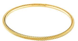David Yurman 18K Cable Classics Bangle