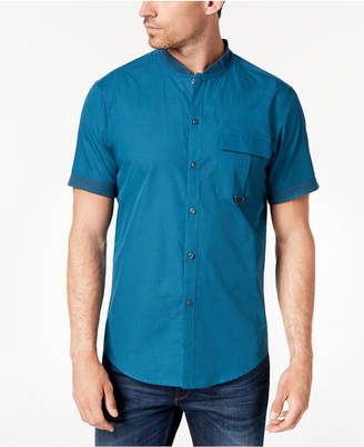 INC International Concepts I.n.c. Men's Banded Collar Shirt, Created for Macy's