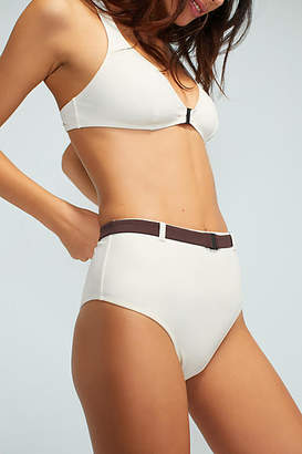 Solid & Striped The Josephine High-Waisted Bikini Bikini Bikini Bottom