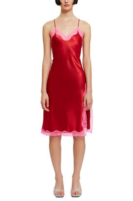 Callipygian Neon Lace Dress