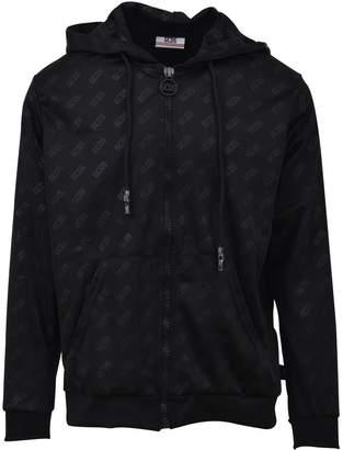 GCDS Zip-up Hooded Sweatshirt