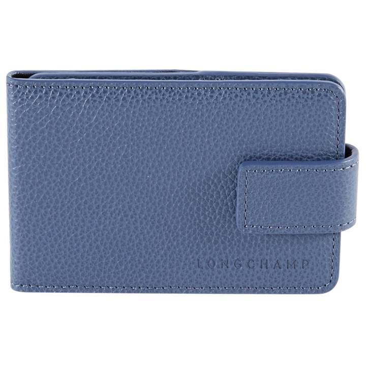 Longchamp Leather purse - BLUE - STYLE