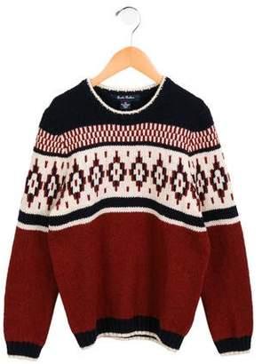 Brooks Brothers Boys' Wool Fair Isle Sweater