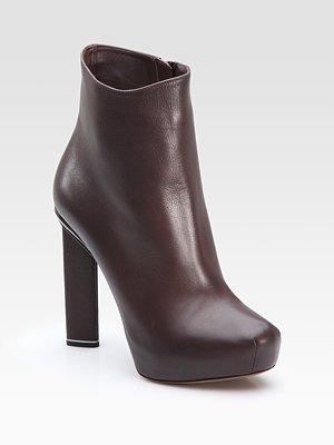 Hidden Platform Ankle Boots