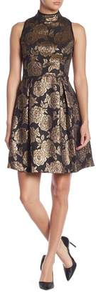 Nanette Lepore NANETTE Sleeveless Jacquard Dress