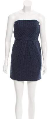 Tibi Crocheted Sheath Dress
