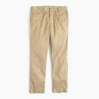 J.Crew Boys' lightweight chino pant in stretch skinny fit