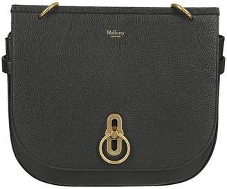 Mulberry Saddle Shoulder Bag