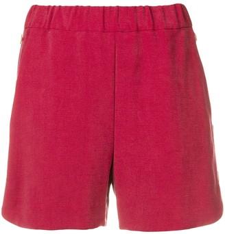 MAISON KITSUNÉ Vittoria elastic shorts