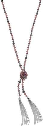 Vera Wang Simply Vera Tone Multi Color Bead Necklace