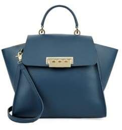 Zac Posen Eartha Iconic Top Handle Leather Bag