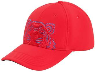 Kenzo Embroidered Cotton Canvas Baseball Hat