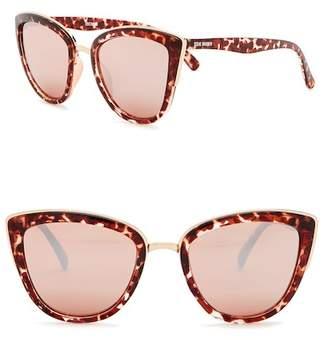 Steve Madden 53mm Oxford Cat Eye Sunglasses