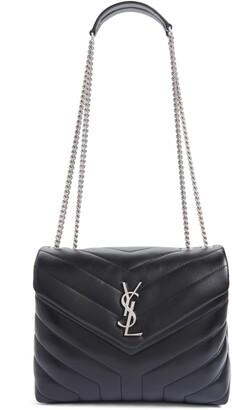 25e0dffa65a Saint Laurent Small Loulou Matelasse Leather Shoulder Bag