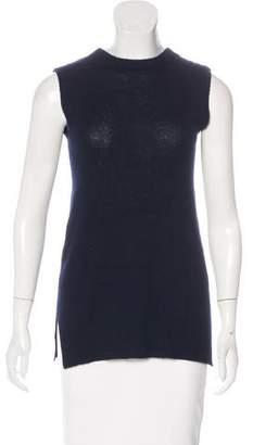 Prada Tie-Accented Knit Vest