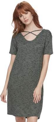 Juicy Couture Women's Crisscross T-Shirt Dress