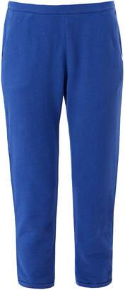 Derek Rose Devon Navy Cotton Loopback Trouser