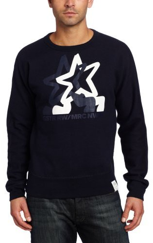 G Star G-Star Men's Canadian Sweater Long Sleeve Sweater