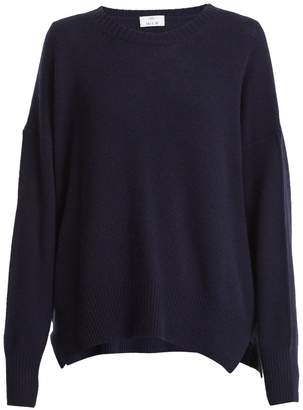 Allude Round-neck cashmere sweater