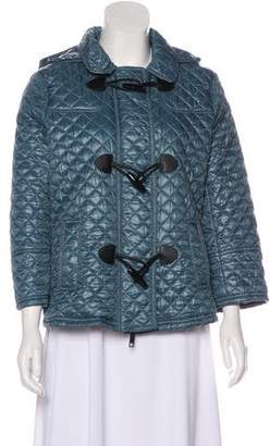 Burberry Hooded Quilted Jacket