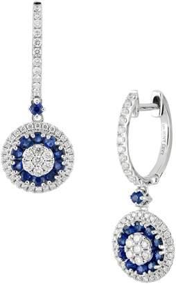 Bony Levy Sapphire & Diamond Drop Earrings