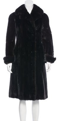 Christian Dior Mink Long Coat