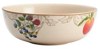 Bonjour Dinnerware Orchard Harvest Stoneware 9-Inch Serving Bowl - 54184