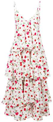 Dodo Bar Or floral print tiered dress