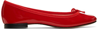 Repetto Red Cendrillon Ballerina Flats $295 thestylecure.com