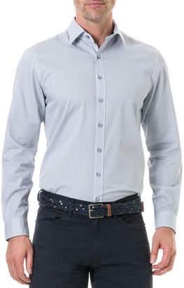 Rodd & Gunn Men's Helston Way Pin-Dot Sport Shirt