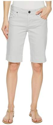 KUT from the Kloth Natalie Bermuda in Cool Grey Women's Shorts