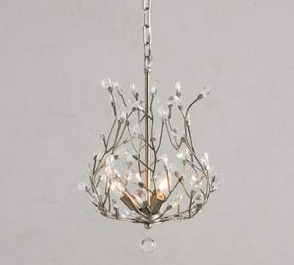 Pottery Barn Bella Crystal Blossom Chandelier