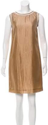 Philosophy di Alberta Ferretti Sleeveless Satin Dress