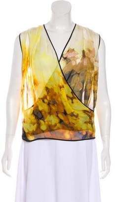 Robert Rodriguez Silk Sleeveless Top