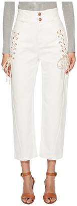 See by Chloe Lace-Up Pants Women's Casual Pants