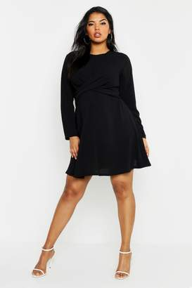 67711056fe1f boohoo Black Skater Dresses - ShopStyle Canada
