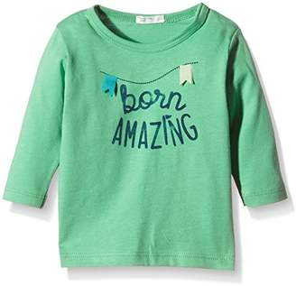 Benetton Baby-Boys 3096MM18W T-Shirt,(Manufacturer Size:56 1-3 Months)