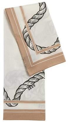 HUGO BOSS Italian-made printed bandana in a cotton blend