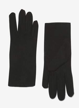 6fe2b8e89 Dorothy Perkins Womens Black Micro Fleece Gloves