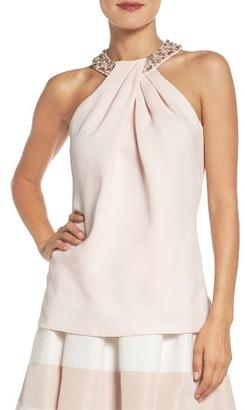 Women's Eliza J Beaded Tank $128 thestylecure.com