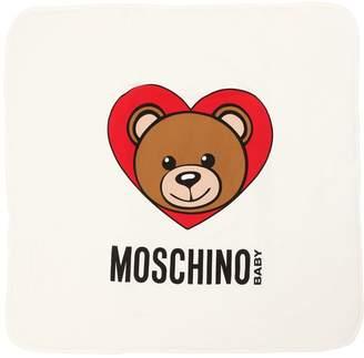 Moschino Heart Padded Cotton Interlock Blanket